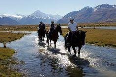 New Zealand Travel Guide: Glentanner Horse Trekking
