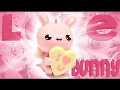 Kawaii Love Bunny Polymer Clay Tutorial