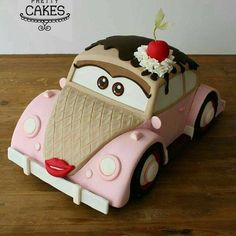 Cutest VW Bug Cake ever! Regram @makeprettycakes . . . . . #herbiecake #food #vwbugstagram #dessert #baking #carcake #vwbug #cakescakescakes #bakery #awesomecakes #cakeaddict #cakeideas #shinycake #cakeartist #instayum #cakelover #bake #cakedecorating #cakeshare #foodphoto #cakefordays #cakemaking #sliceofcake #huffposttaste #cakesofinstagram #ohcake #cakestagram #cakeschool #weddingcake #coolcakedesigns