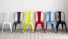 La silla Tolix, ahora en Unimate. www.unimate.com.ar