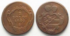 RDR - GÖRZ GORIZIA 2 Soldi 1799 S Kupfer # 95478