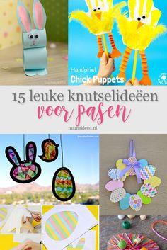 Knutselen voor Pasen met peuters en kleuters - MamaKletst.nl