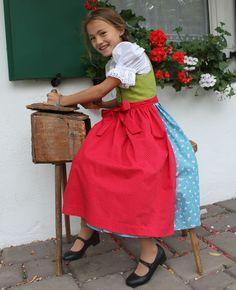 Dirndl, Kinderdirndl für das Oktoberfest http://www.oktoberfesthaus.com