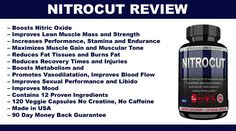 Nitrocut Review PreWorkout Nitric Oxide Booster  Supplements ScoreCard