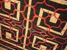 I love her work. so beautiful. Ainu Embroidery by Cikap Emiko