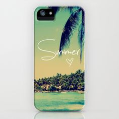 Summer Love Vintage Beach iPhone Case by RexLambo - $35.00