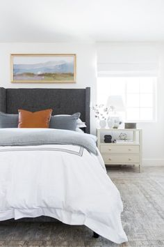 Interior Home Decoration. Provide A Fashionable Property With These Interior Design Recommendations Bedroom Colors, Home Decor Bedroom, Bedroom Wall, Scandi Bedroom, Bedroom Ideas, Neutral Bedrooms, Bedroom Inspo, Bedroom Furniture, White Bedrooms