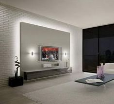 Charmant Home Lighting: 25 Led Lighting Ideas. Media WallTv UnitsHome ...