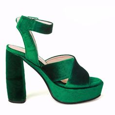 ALEPH COLLECTION is an online store that offers fashionable and trendy clothing and accessories for women. Trendy Outfits, Heeled Mules, Footwear, Velvet, Sandals, Heels, Accessories, Collection, Women