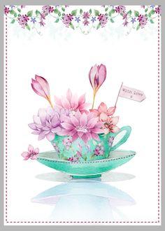 Victoria Nelson - Teacup Flowers Copy