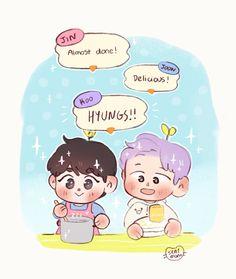 Going Fishing, Kpop, Namjin, My Mood, Bts Suga, Cool Art, My Arts, Family Guy, Fan Art