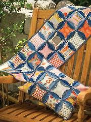 Hip Hugger Table Runner and Pillow Sewing Pattern