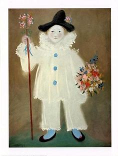 picasso/the artist's son as Pierrot, 1929