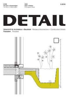 "Cover of ""DETAIL 5/2018 - Fassade"""