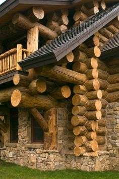 HOW MANY TREES HAD TO DIE? ONE TOO MANY!!!   >>>23 Photos of Beautiful Rustic House