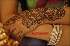 Henna with gems