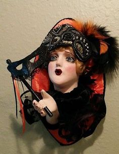 Halloween-Boudoir-Doll-Wall-Plaque