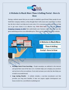 A Website is Much More Than a Selling Portal Here is How