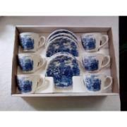 Conjunto De Chá Oxford, Vitramik Decorada Na Caixa R$ 250.0
