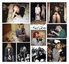 """Happy Birthday, Kurt Cobain"" by shinedownsiren ❤ liked on Polyvore featuring art"