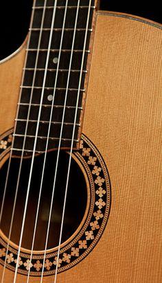 Custom Left-Handed Guitar - Cocobolo Crossover Guitar
