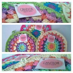 Posapava Crochet Multicolor Posa Agarradera - $ 99,00 en Mercado Libre