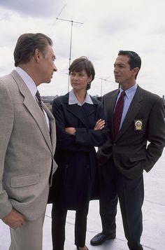 Carey Lowell , Jerry Orbach and Benjamin Bratt on Law & Order
