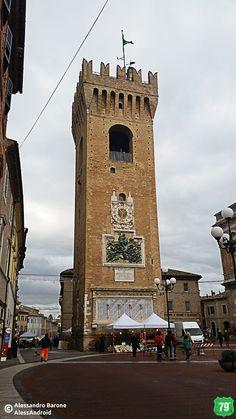 Torre del Borgo Ghibellina #Recanati #Marche #Italia #Viaggio #Viaggiare #AlwaysOnTheRoad