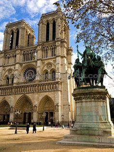 I'd love to visit the magnificent Notre dame Cathedral. #MissKL #SpringtimeinParis