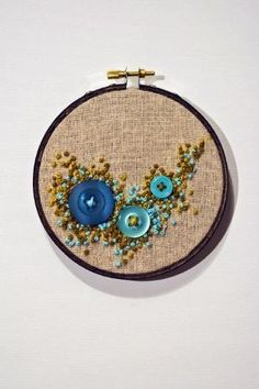 Cute French knots by nikki