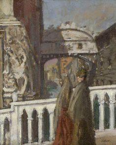 The Bridge of Sighs, Venice   -    Walter Richard Sickert   c.1901  British 1860-1942