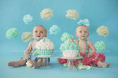 Heidi Hope Photography twin cake smash 6