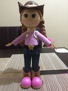 Fofucha vaquera Lalaloopsy, New Hobbies, Making Out, Biscuit, Birthday Parties, Projects To Try, Mary, Diy Crafts, Dolls