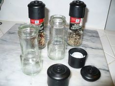 In the Kitchen at Gear Acres: How to Reuse a McCormick Sea Salt Grinder