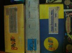 Basket, interiores infantiles, año 1982, encontrado en Acebo, Caceres