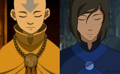 .I don't know if the one of korra is fan art or not...but its still cool either way