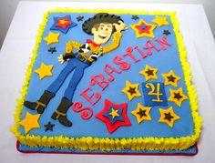 Woody Toy Story Cake by Fia Sweet Ideas