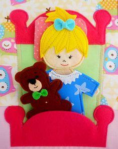 Developmental boek for an jaar oud meisje - Ambachten - Babyblog.ru