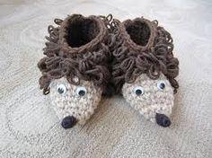 Image result for crochet slippers kids