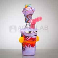 Bob The Glass Blower Worked Master Shake Mini Vapor Rig