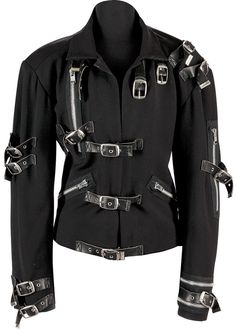 Michael Jackson: King Of Style The Bad Jacket. Michael Jackson Bad, Michael Jackson Outfits, Michael Jackson Merchandise, Michael Jackson Costume, Michael Jackson Smooth Criminal, Michael Jackson Neverland, Michael Jackson Images, 3d T Shirts, Cute Jackets