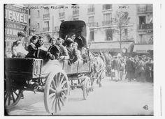 1914 - Belgian Refugees in Paris
