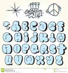 210 Best Graffiti Fonts Images Graffiti Alphabet Fonts Graffiti