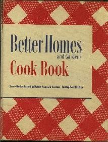 Better Homes and Gardens Cookbook, 1948