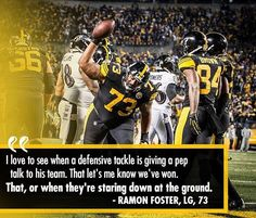 How great was this touchdown celebration by Ramon Foster?! #herewego #steelers