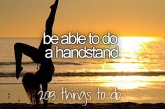 Be Able to do a Handstand