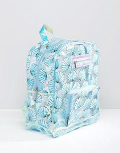 Skinnydip   Skinnydip Exclusive Mermaid Shell Backpack