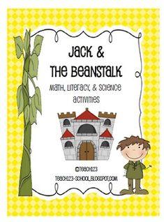 Fairy tale / Fairytale: Jack and the Beanstalk Activities  $