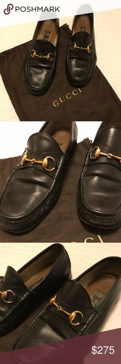 Men's Gucci Loafers Dust bag is included. Great condition Gucci Shoes Loafers & Slip-Ons