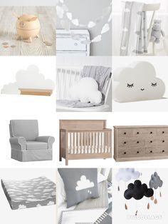Cloud nursery theme ☁️ More
